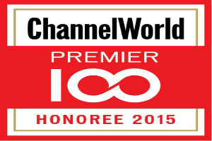 Channel World Premier 100 Honoree 2015.India 100 Most Agile Partners