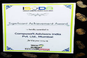 Business Excellence Award for Applications space in the recently concluded by ISODA